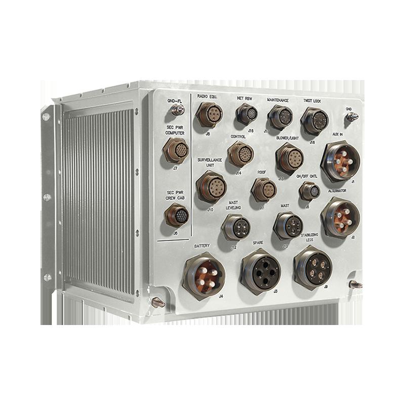 custom military power supply-white